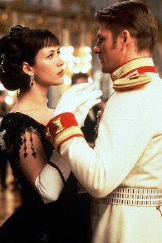 Sophie Marceau, Sean Bean in 'Anna Karenina', 1997.