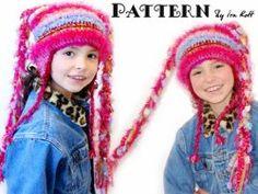 Funky Tails Crochet Hat | AllFreeCrochet.com