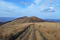 Mountains, Landscape, Top View