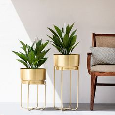 We will briefly introduce some shortcomings that should be considered when buying metal flower pots. Gold Planter, Metal Planters, Indoor Planters, Indoor Water Fountains, Indoor Fountain, Plastic Pots, Bunch Of Flowers, Metal Flowers, Garden Inspiration