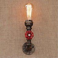 ac 220v-240v 40w e27 bg813 nostalgie tuyau d'eau simple, lampe décorative petite paroi murale – EUR € 60.26