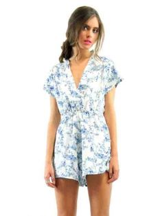 CLOTHING :: All Clothing :: LIONESS Secret Garden Playsuit - - Open Closet | Online Fashion Store | Womens Clothing and Accessories | Brisbane, Queensland, Australia