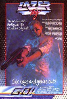80s: Lazer Tag