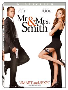 Mr and Mrs Smith Save the Dates - because I am becoming a Smith and we are having a Hollywood themed wedding :)