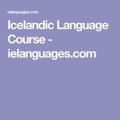 Icelandic Language Course - ielanguages.com