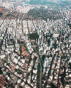 Olha quanta coisa linda reunida nessa foto do @douglasdamasceno_ Quantos lugares vocês conseguem identificar?  #saopaulocity #EuVivoSP #sobrevoandosp South America, Past, City Photo, Urban, Instagram, Landscape Photography, Tourist Spots, Places To Visit, Pictures