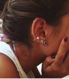 Imagen de girl, piercing, and fashion