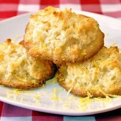 Quick and Easy Perfect Lemon Macaroons Rock Recipes, My Recipes, Cookie Recipes, Dessert Recipes, Favorite Recipes, Simple Recipes, Holiday Recipes, Lemon Macaroons, Newfoundland Recipes