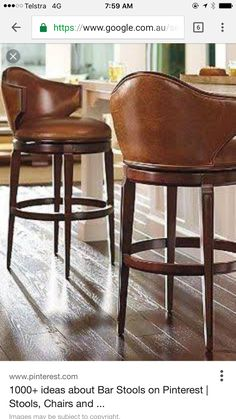 Elevate your home decor with comfortable and durable bar stools from Frontgate. Find high-quality, stylish kitchen counter stools and bar chairs online. Kitchen Island Stools With Backs, Bar Stools With Backs, Kitchen Stools, Kitchen Islands, Cool Bar Stools, Bar Stool Chairs, Counter Bar Stools, Dining Chairs, Swivel Chair