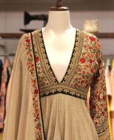 Shop at anantam gurgaon 💞 Kurta Designs Women, Blouse Designs, Pakistani Outfits, Indian Outfits, Heavy Dresses, Kurta Neck Design, Indian Designer Suits, Kurti Designs Party Wear, Indian Couture