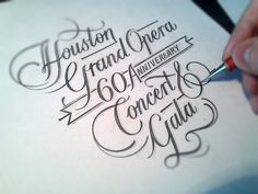 Handlettering designs for apparel, print,  packaging and personal use