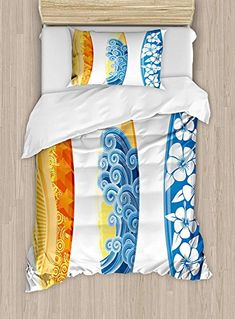 Cactus Quilted Bedspread /& Pillow Shams Set Zigzag Background Plant Print