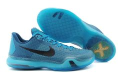 new product 00715 67454 Cheap Nike Kobe 10 Blue Lagoon Black-Vapor Green Mens Cheap