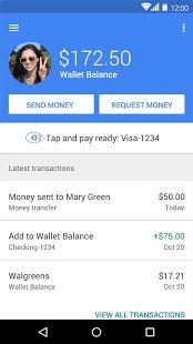 Google Wallet - screenshot thumbnail
