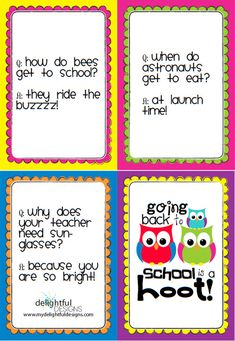 back to school OWL theme printables! SO cute!