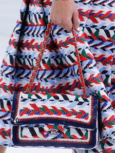 Chanel Brought a Lot of Beautiful Bags to a Very Glam Airport for Spring 2016