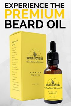 Your search for the best beard oil is over. Experience the quality difference now with Seven Potions.