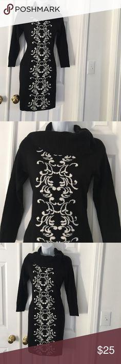 Beautiful sweater black /white dress Beautiful sweater black /white dress Dresses