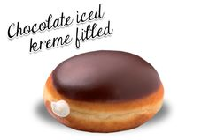 Chocolate Iced Kreme Filled - AE,SA,LB