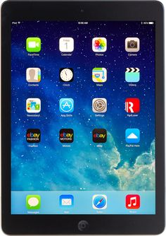 Apple iPad Air Retina Wi-Fi (Unlocked) Space Grey A+ Grade Warranty New Apple Ipad, New Ipad, Apple Desktop, Pencil For Ipad, Touch Screen Technology, Tablet, Ipad Mini 2, Retina Display, Apple Products