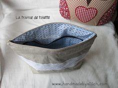 trousse de toilette, couture www.handmadebystitch.com