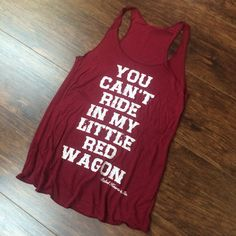 Miranda Lambert <3 you can't ride in my little red wagon. country apparel rebelheartsco.com