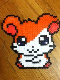 Hamtaro hama beads by icaaaxo on deviantart