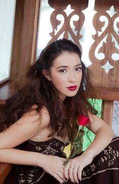 Calyxta February Cover Girl Carla Humphries Cover Girl, Filipina, February, Father, Crown, American, Girls, Fashion, Covergirl