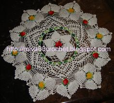 Many doily patterns