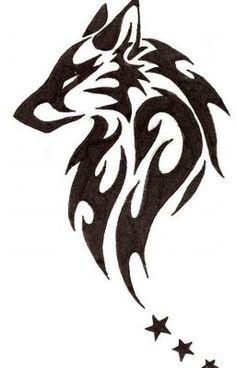 tribal wolf tattoos designs and ideas - tribal tattoo sketch Wolf Tattoo Design, Tribal Tattoo Designs, Tribal Animal Tattoos, Tribal Drawings, Tattoo Wolf, Tattoo Animal, Tattoo Bird, Wolf Tattoo Tribal, Tattoo Flowers
