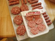 Example of homemade sausage vs. commercial sausage