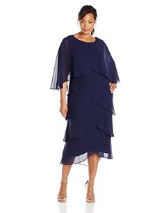 S.L. Fashions Women's Plus-Size Pop Over Jacket Dress, Sapphire, 20 S.L. Fashions http://www.amazon.com/dp/B00WJ3DC0Q/ref=cm_sw_r_pi_dp_1aaNvb19N9BSF