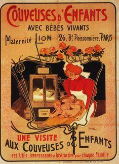 1896 Hohenstein Couveuses d'Enfants 147x113 cm