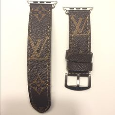 LV Apple Watch 42mm STRAP. Made from the purse itself, customized Apple Watch strap. You can feel the quality of the band. For the 42mm size apple watch. Apple watch NOT included. Just the band. Louis Vuitton Accessories Watches