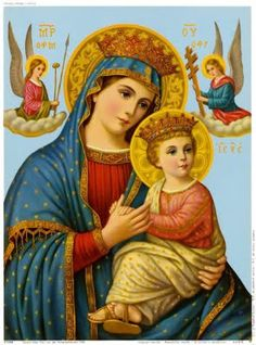 Dominus vobiscum, Et cum spiritu tuo.: Our Lady of Perpetual Succour Church Pictures, Religious Pictures, Religious Icons, Religious Art, Jesus And Mary Pictures, Mary And Jesus, Christian Artwork, Christian Images, Blessed Mother Mary
