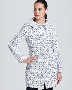 Trina Turk Jacquard Weave Coat | Bloomingdale's