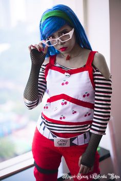 Miyavi Honey - Ghoulia Yelps cosplay | WorldCosplay photo