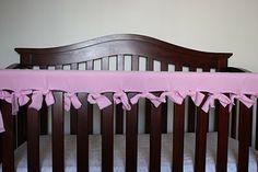 DIY Crib Rail Protector