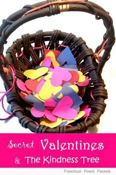 Secret Valentines Service and Kindness Tree! | Preschool Powol Packets