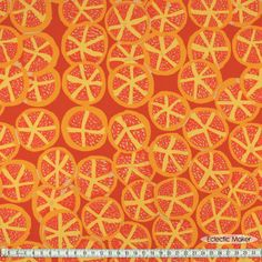 Brandon Mably Fabric St. Clements in Red Brandon Mably Fabric St. Clements in Red (BM032 Red) from Eclectic Maker [BM032 Red] : Eclectic Maker, patchwork, quilting and dressmaking fabric, patterns, habberdashery and notions.