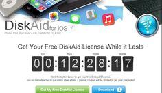 ด่วน! แจกฟรีโปรแกรม DiskAid สำหรับจัดการไฟล์บน iPhone, iPod, iPad ปกติ 1,027 บาท (Windows/Mac)   iPhone-Droid