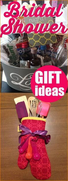 Creative Bridal Shower Gifts.  the bride will adore.  Gift something creative that the new couple will use and enjoy.  Easter baskets ideas.  Gifts for newlyweds.