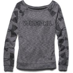 I think I just found Roooooski's Christmas present...yaaaay! Under Armour Women's Kaleidalogo Volleyball Crew Sweatshirt