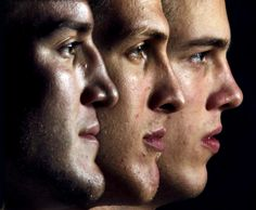 Duke: The Plumlee brothers. (left to right) Miles, Mason and Marshall. Photo: Chuck Liddy - The News & Observer Love And Basketball, Duke Basketball, College Basketball, Mason Plumlee, England Fans, Duke Blue Devils, College Fun, Girls 4, Cameron Crazies