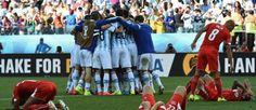 1/8 de finale : Argentine 1 - 0 Suisse - Coupe du monde - Brésil 2014