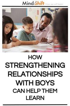 How Strengthening Relationships with Boys Can Help Them Learn Relationship Breakdown, Cult Of Pedagogy, Teaching Boys, Self Concept, You Lied To Me, Teacher's Guide, Family Issues, My Teacher, Statistics
