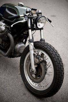 Wrenchmonkees Moto Guzzi. Clearly, I need to save my money for one of their custom bikes. These are beautiful.