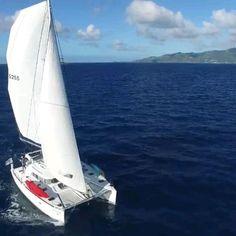 Catamaran Design, Yacht Design, Boat Design, Sailing Yachts For Sale, Sailing Catamaran, Boat Girl, Living On A Boat, Cool Boats, Super Yachts