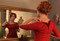 Joan Harris is a piece of work, but if I could find a way to dress like the leading ladies of 'Mad Men' on a daily basis, I totally would. And her hair is gorgeous to boot.