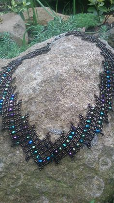 Diagonal Necklace